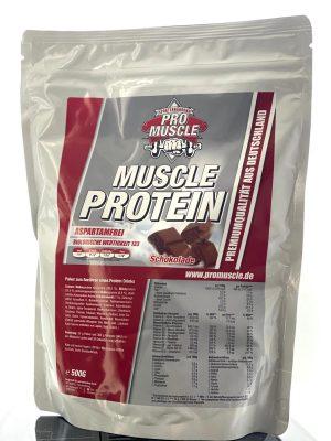 Pro Muscle Schokolade 500g