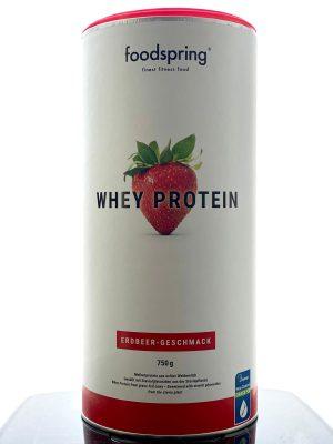 Foodspring Whey Protein Erdeer Geschmack